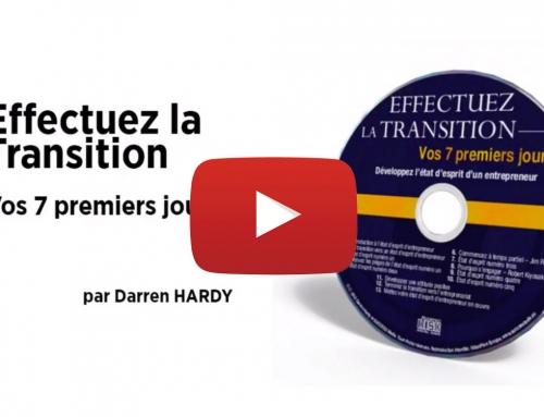 AUDIO 🎧 Effectuez la transition dans le Marketing de Réseau – Darren Hardy